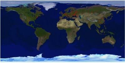 География посетителей моего блога за неделю