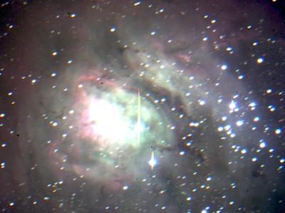 M8, после обработки в SAOImage DS9 и GIMP