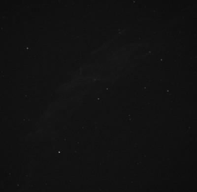 NGC 6992, без обработки