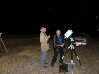 Два Александра у телескопа