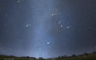 Один из возможных вариантов реалистичного неба в следующей мажорной версии Stellarium'а