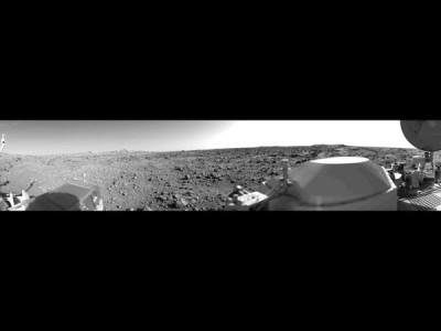 Первая панорама Марса