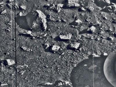 Первый фотоснимок поверхности Марса