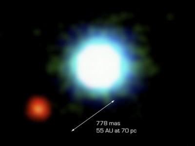 Первый фотоснимок экзопланеты