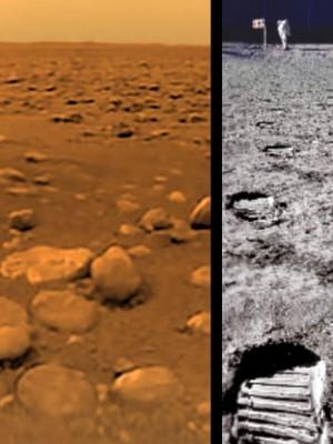 Первый фотоснимок Титана