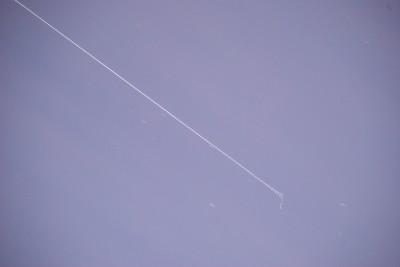 Пролёт МКС 3 марта. 1-й кадр, уменьшенный необработанный JPEG.