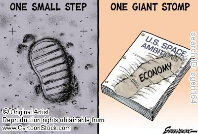 One small step, one giant stomp