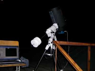 Вид телескопа Celestron C11-SGT с камерой Apogee Alta U8300 на монтировке NEQ6-W Pro