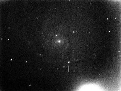 Сверхновая SN 2011fe