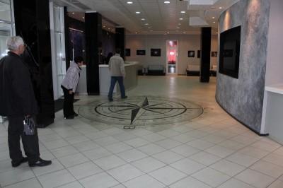 Так выглядит холл первого этажа Центра