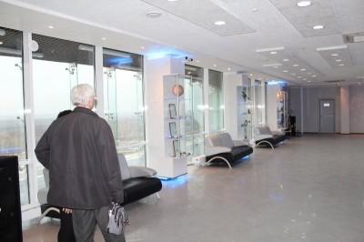 Экспозиция продолжается и на втором этаже Центра, но это уже другая экспозиция