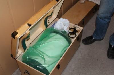 TAL-250K расширенной комплектации в ящике и готов к отправке в Барнаул