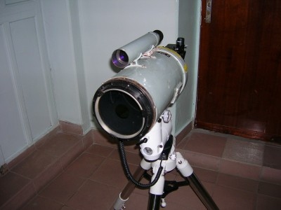 Вид на АЗТ-9 с новым фокусёром спереди