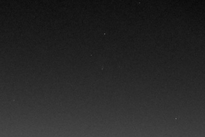 Участок с кометой