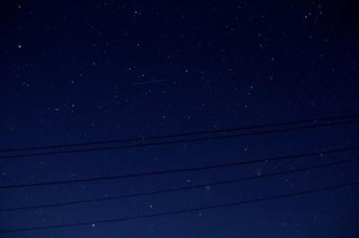 C/2011 L4 (PANSTARRS) и M31 в одном кадре