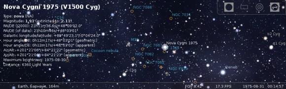 Nova Cygni 1975