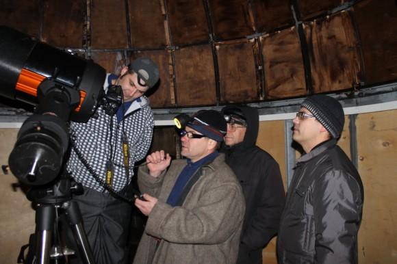 В поисках кометы C/2012 S1 (ISON)