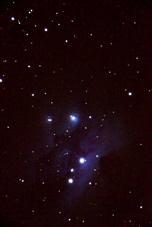 NGC 1977, 1973 и 1975