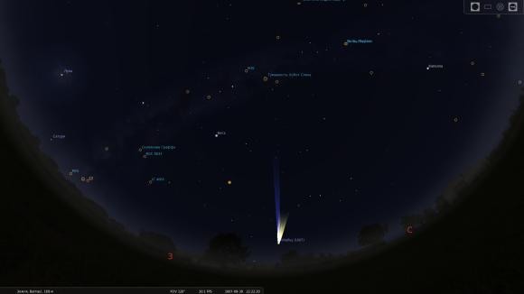 Комета Галлея 1607 года